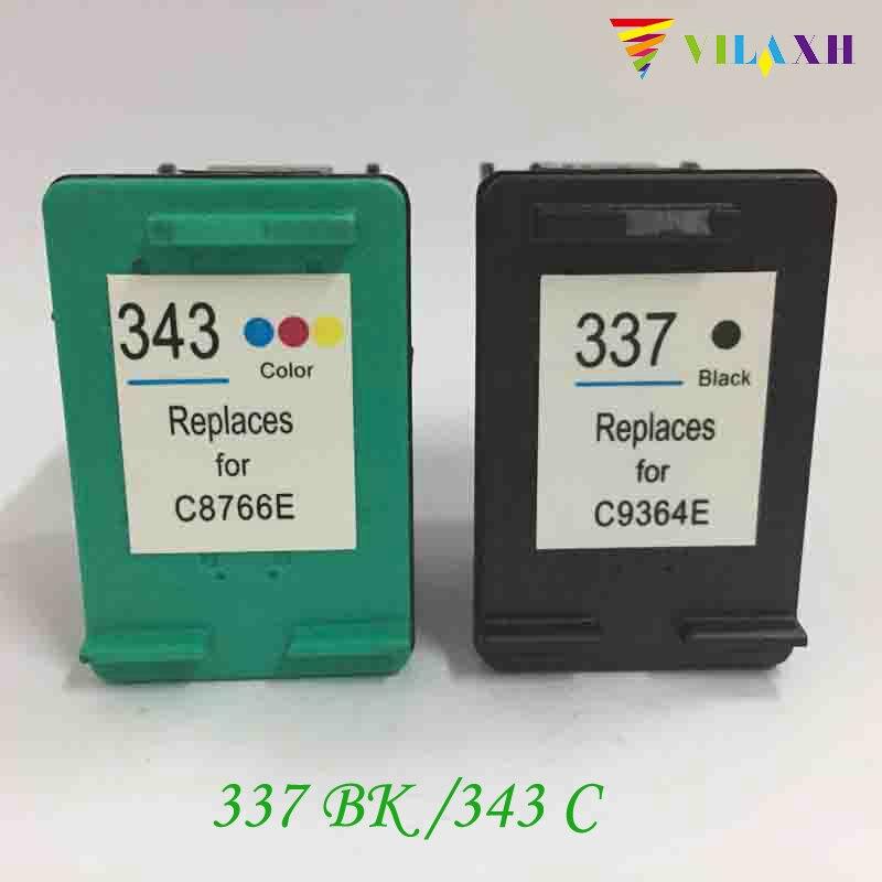 337 343 Remanufactured tintenpatrone 337 343 Für HP Photosmart C4180 C4190 2575...