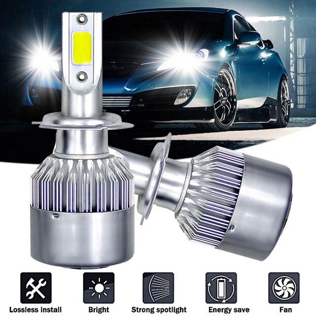 1 LED Car Light H4 H7 H1 H11 H9 H8 H10 HB3 9005 HB4 9006 HB2 9003 H27 880 881 HB5 9007 H13 9008 HB1 9004 LED Headlight Car Bulbs
