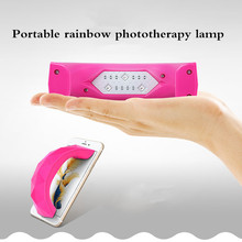 Nail Dryer For LED UV Lamp 90W MINI USB Manicure LCD Display Drying All Gels Polish Art Tools