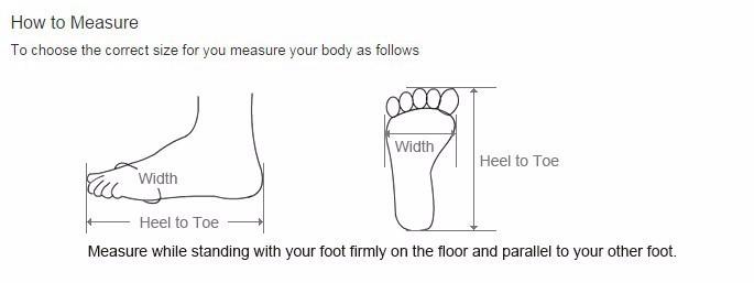Heel to Toe(cm)