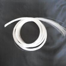50 шт. X 1 мм Диаметр X 2 м длинный конец свечения пластик PMMA волоконно-оптический кабель для всех видов светодиодный светильник драйвер двигателя