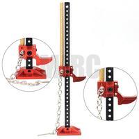 MJRC Durable RC Rock Crawler Slideable Jack de Metal Ferramenta para Axial TRX-4 SCX10 TAMIYA CC01 RC4WD D90 D110 TF2 1:10 Acessórios