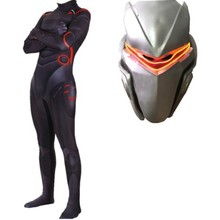 XintComic Omega 2019 Adult Kids Game Cosplay Costume Oblivion link Zentai Bodysuit