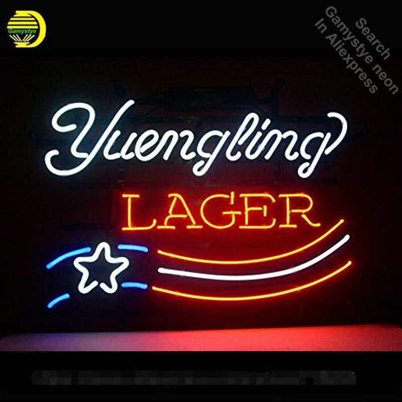 Yuengling Lager Neon Sign Party neon bulb Sign Neon light
