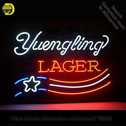 Yuengling Lager neon Party żarówka neonowa znak neonowy znak świetlny szklana rurka pub piwny rzemieślniczy handlowy znak kultowy neonowe światła