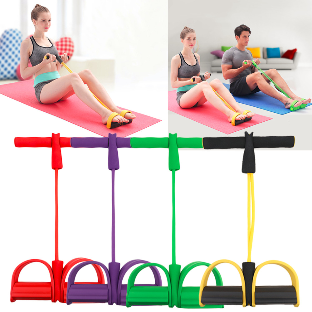 Xd Fitness Equipment: Handles And Footrests Elastic Resistance Band