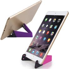 Olhveitra Smart Phone Stand Holder Plastic V Mount For iPhone xs max Xiaomi Mi9 Samsung S10+ iPad Mini Pocket Desk Tablet Holder(China)