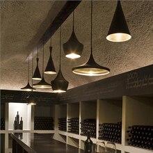 Modern LED Pendant Light Vintage Pendant Lamp E27 Base Edison Bulb Home Lighting Fixture Art Deco Designer Light Lustre