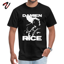 Damien Rice Casual Urban Sleeve Tops Shirts Lovers Day Round Neck Pure Messi Mens T Shirt Fitted