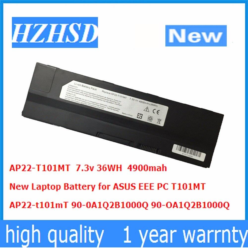 7.3v 36WH 4900mah New AP22-T101mT Laptop Battery For ASUS EEE PC T101MT 90-0A1Q2B1000Q 90-OA1Q2B1000Q
