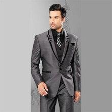 Linyixun 2020 Neue Tweed Männer Anzüge Plaid Terno Hochzeit Anzug Bräutigam Smoking Tailored Wolle Anzüge Nach Maß (Jacke + hosen + weste)
