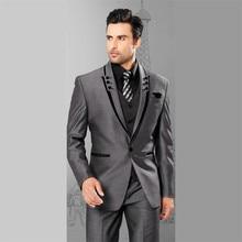 Linyixun 2020 חדש טוויד גברים חליפות משובץ Terno חתונה חליפת חתן טוקסידו המותאם חליפות תפור לפי מידה (מעיל + מכנסיים + אפוד)