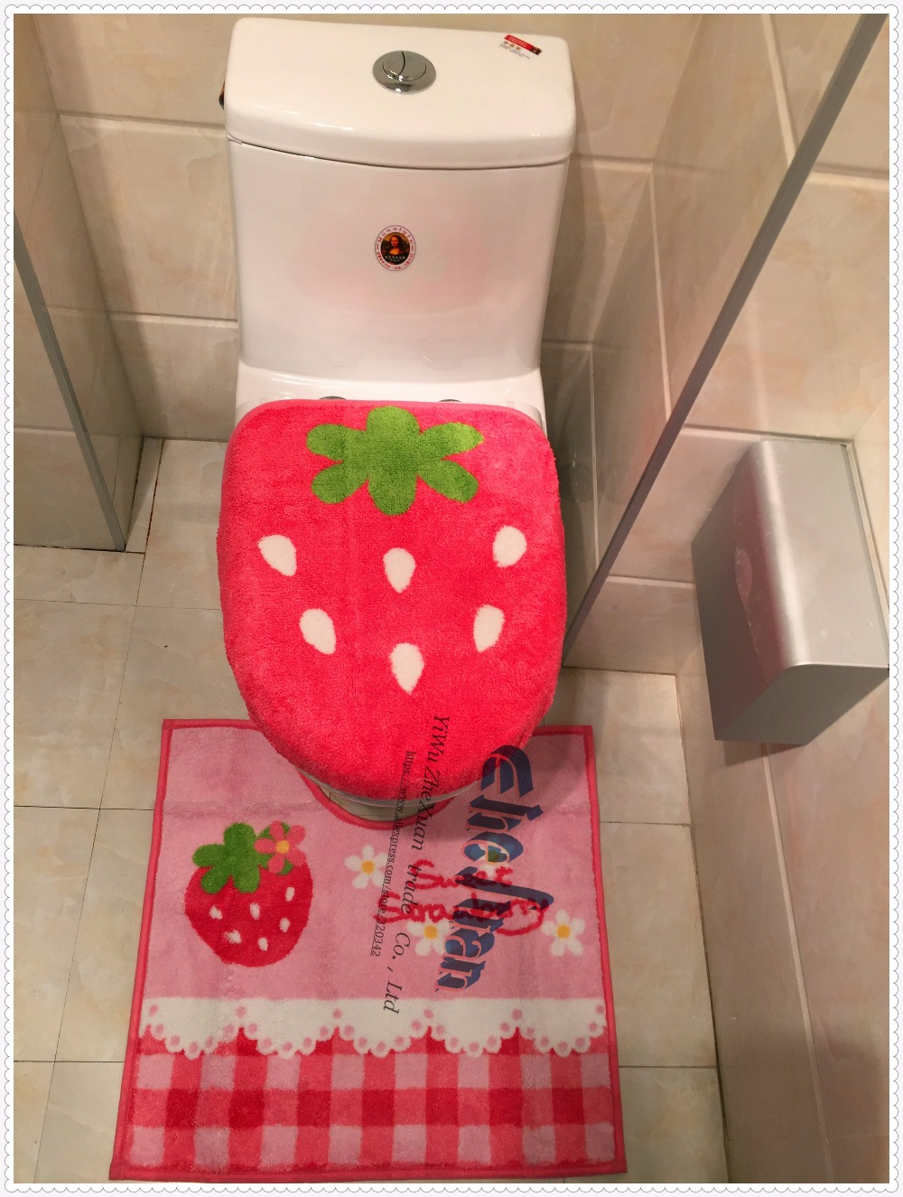 popular strawberry bathroom-buy cheap strawberry bathroom lots