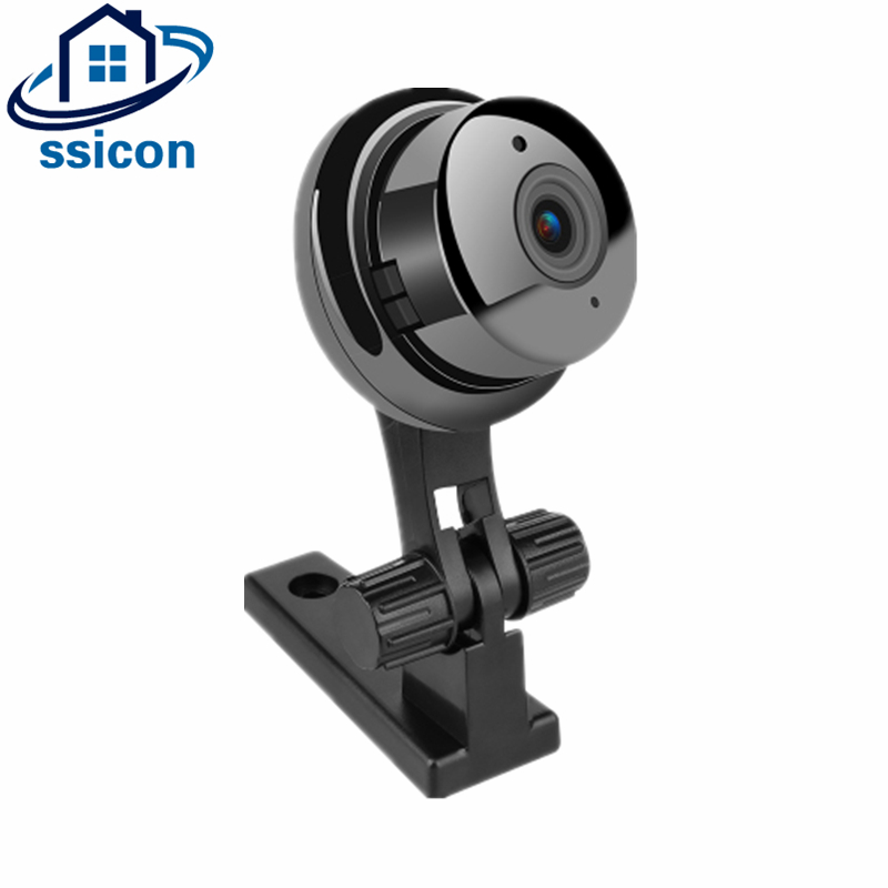 SSICON HD 720P Mini WIFI Camera ONVIF P2P Two-way Audio Motion Detection Email Alert 1MP Wireless Button Camera Baby MonitorSSICON HD 720P Mini WIFI Camera ONVIF P2P Two-way Audio Motion Detection Email Alert 1MP Wireless Button Camera Baby Monitor
