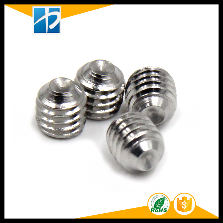 (100 pc/lot) M2,M2.5,M3 *L SUS304 DIN916 stainless steel hex <font><b>socket</b></font> <font><b>cup</b></font> point <font><b>set</b></font> grub <font><b>screw</b></font>