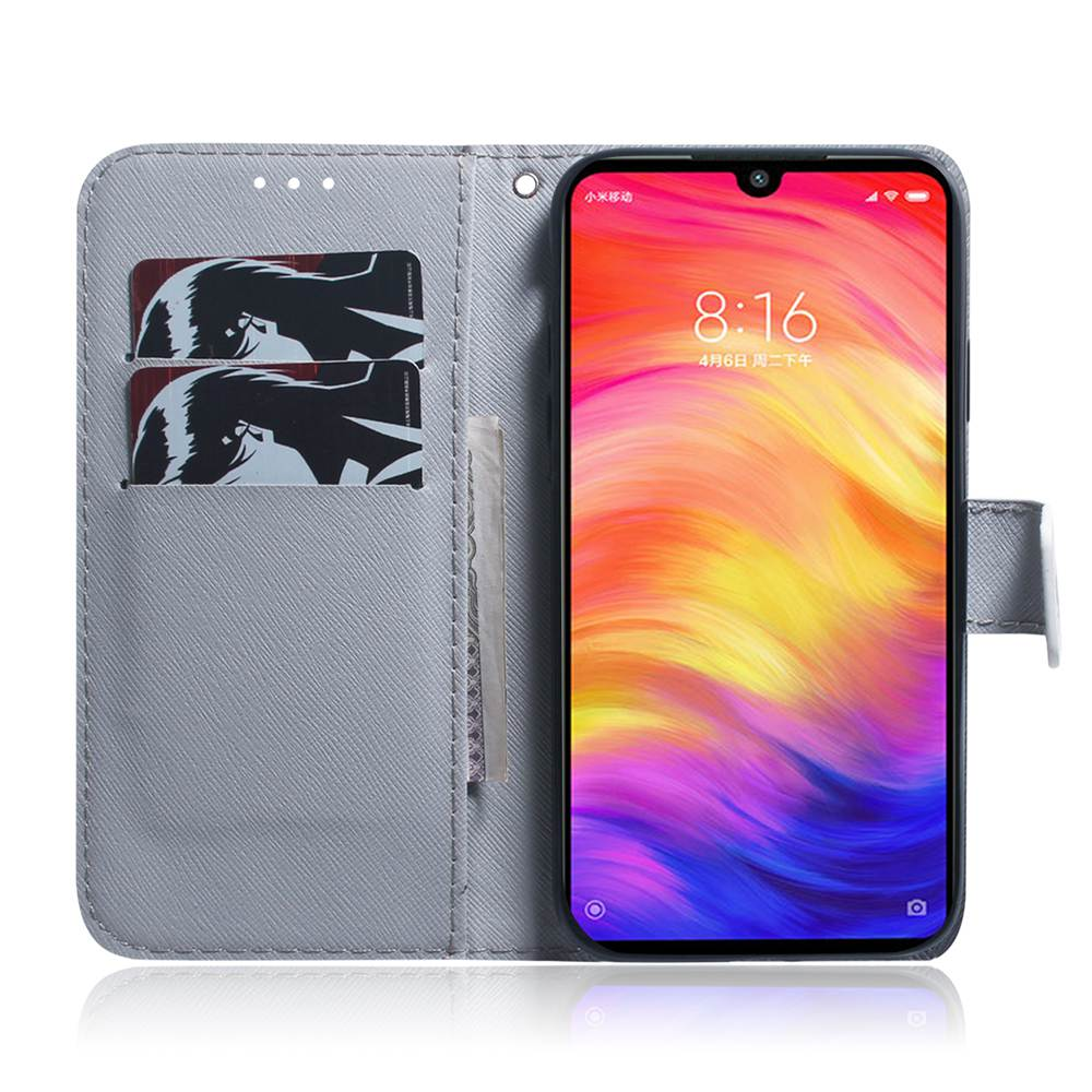 Book Flip Covers On Note7Pro 6 3 quot PU Leather Cases For Xiaomi Redmi Note 7 Pro Cases Wallet TPU Shell Skin Full Housing Picture in Wallet Cases from Cellphones amp Telecommunications
