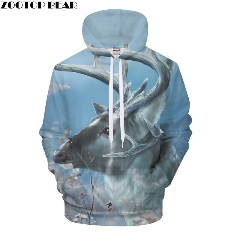 Animal Hoodies Men 3d Hoodie Sweatshirts Unisex Hoody Pullover Fashion Coats Brand Casual Tracksuits Boy Autumn Streetwear Male