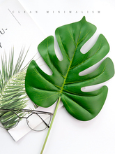 High-grade Simulated Leaves Green Plant Leaf Decor INS Photography Background Adornment Studio Shooting Photo Props Accessories