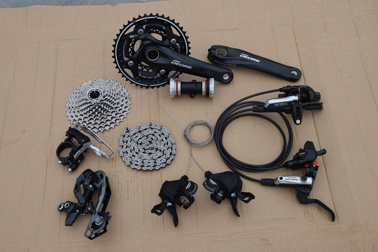 Shimano Deore M610/M615 MTB Groupset Group Set 10 speeds bike bicycle parts bicicleta better sram alivio microshift