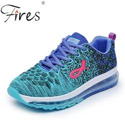 Fires women sports shoes summer cushion sneakers girl outdoor running shoes air mesh trend walking shoes.jpg 250x250