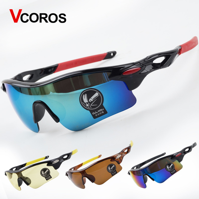 be3e9b5263c VCOROS Polarized Cycling Glasses Bike Outdoor Sports Bicycle Sunglasses  Goggles Fishing MTB Sport Eyewear 12 colors avaiable