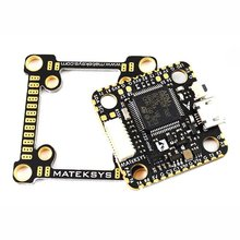 Matek System F722-mini Flight Controller convertible 20mm to 30.5mm mounting 2~8S STM32F722 FC with OSD for DIY FPV Racing Drone flycolor raptor s tower 4 in 1 12a blheli s esc 2 3s speed controller with osd no osd 20mm 20mm for rc mini drone quadcopter