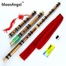 Дицзы димо cdefg флейта узел бамбука ключ работы очистки китайский ручной
