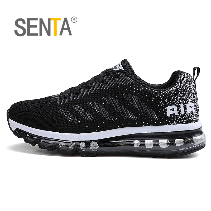 SENTA Cushioning Outdoor Running Shoes For Men Non-slip Sport Male Shoes Professional Athletic Training Sneakers Men's Air Shoes