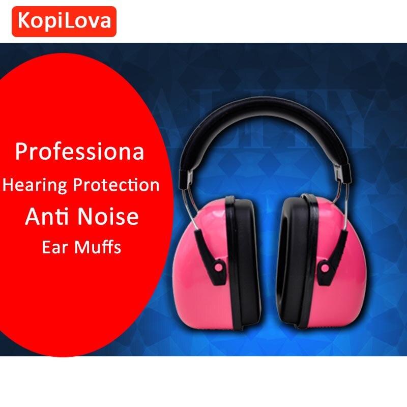 bilder für KopiLova Rosa Lärmminderungs Gehörschutz Personalisierte Gehör Schutz Schalldichte Ohrenschützer für Schießen Jagd Schlafen