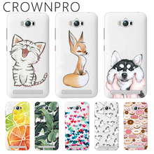 CROWNPRO Soft Silicone Case For Asus Zenfone Max ZC550KL 5.5 inch Back Cover TPU Case For Asus Zenfone Max Phone Cases Funda