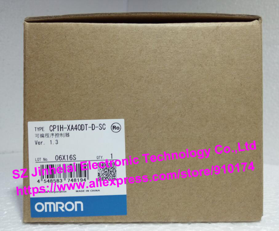 100% New and original CP1H-XA40DT-D-SC OMRON PLC CONTROLLER [zob] 100% brand new original authentic omron omron photoelectric switch e2s q23 1m 2pcs lot