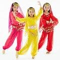 Восточные Танцевальные Костюмы Девочек Стадия & Одежда для Танцев Дети Танец Живота Костюм детская Индия Танца Одежда