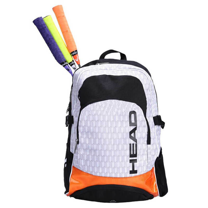 Flagship Type Head Badminton Rackets Backpack Max 3 Rackets In And Clothing With Individual Shoes Bag Also For Tennis Rackets
