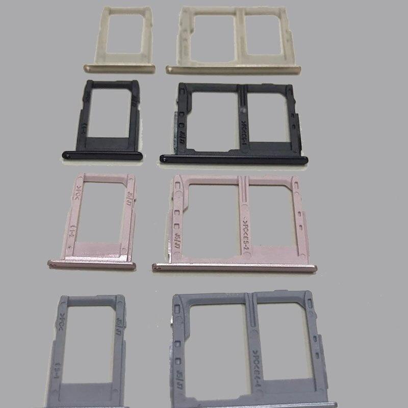 10sets/lot for Samsung Galaxy J3 J5 J7 2017 pro J330 J530 J730 SIM Micro SIM Card Tray Holder Micro SD Card Slot Holder Adapter