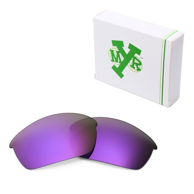MRY POLARIZED Replacement Lenses for Oakley Flak Jacket Sunglasses Plasma Purple