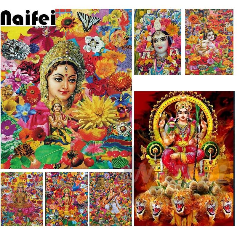 24x34cm Diamond Painting Lord Ganesha,Shiva,Parvati,Buddha,Hindu Religious,5D,Diamond Embroidery,Cross Stitch,3D,Diamond Mosaic,Christmas