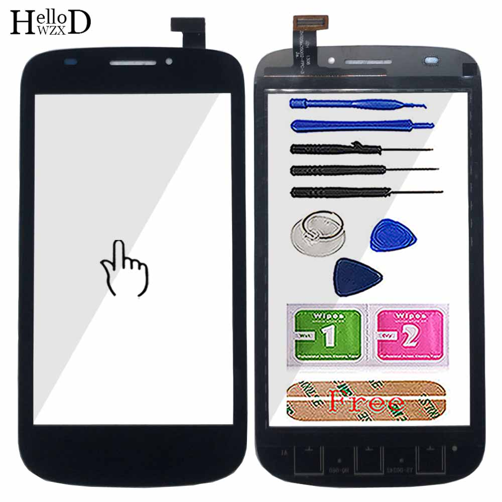 Mobile Touch Screen For Prestigio PAP5000 PAP 5000 Touch Screen Glass Digitizer Panel Front Glass Lens Sensor Tools Adhesive