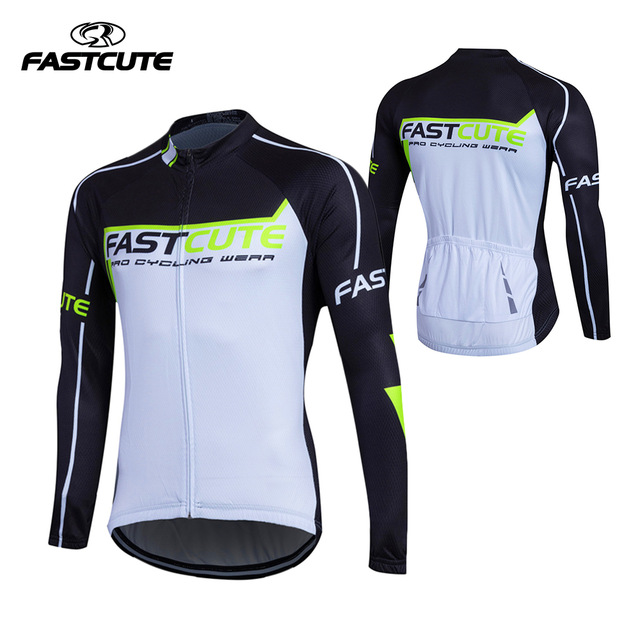 f0d283f25 Fualrny Men Women Cycling Jerseys Autumn Sports Wear Long Sleeved Shirts  Summer Reflective Jacket UV Protection Riding Clothing-in Cycling Jerseys  from ...