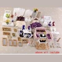 Модель DIY песок таблице материал/1:25 Европейский мебель модель материал комплект/моделирования мебель/технологии модель части/ DIY игрушка