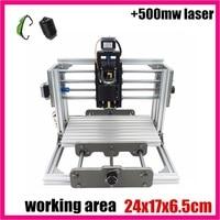 GRBL Control Diy 2417 Mini CNC Machine Working Area 24x17x6 5cm 3 Axis Pcb Milling Machine