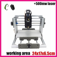 GRBL Control Diy 2417 Mini CNC Machine Working Area 24x17x6 5cm 3 Axis Pcb Milling Machine
