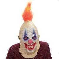 Halloween Horrible Realistic Joker Clown Mask Masquerade Supplies Cosplay