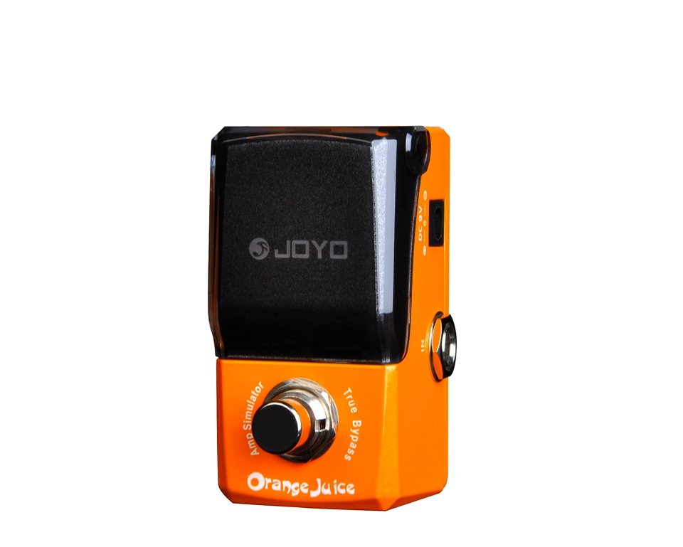 JOYO Guitar Effect Pedal Orange Amp Simulator A Little Dirty Sound For British Classic Rock & Punk