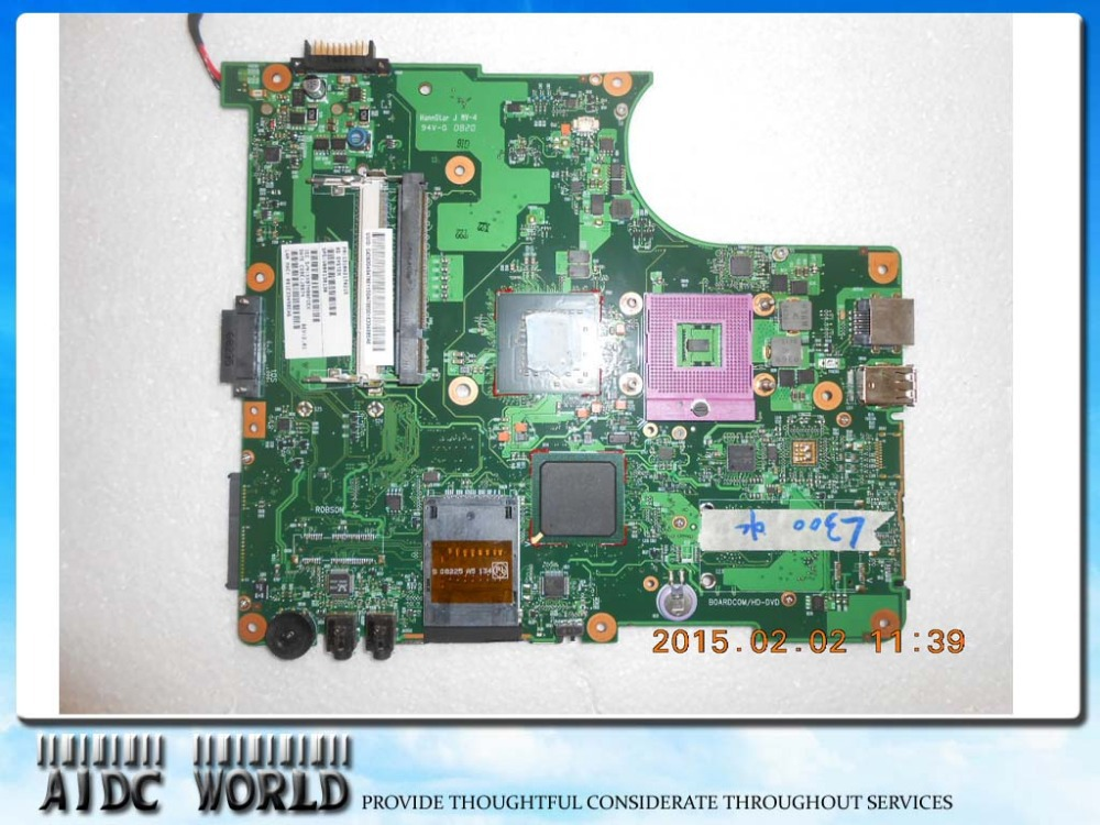 MOTHERBOARD FOR TOSHIBA Satellite L350 L355 V000148210 6050A2170401 100% TESTED GOODMOTHERBOARD FOR TOSHIBA Satellite L350 L355 V000148210 6050A2170401 100% TESTED GOOD