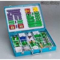 2020 New Creative DIY Electronic Building Blocks Student Children Physics Kit Learning School Educational Toy Tool Model Set