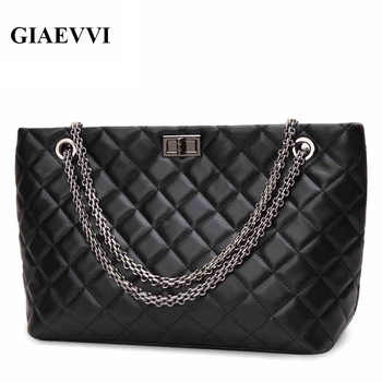 GIAEVVI luxury High quality leather women messenger bags Autumn new handbags Casual woman shoulder bag crossbody Shopping bag - DISCOUNT ITEM  50% OFF All Category