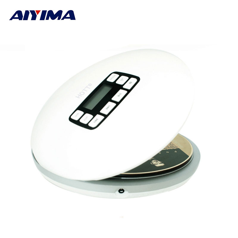 aiyima hifi audio cd player mini portable cd611 cd players. Black Bedroom Furniture Sets. Home Design Ideas