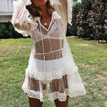 1b4799cccb35d Buy dress lace transparent and get free shipping on AliExpress.com