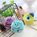 4pcs/lot 7cm Lovely Monster University Bag accessories backpack Small Pendant Sandbags Doll Kids Toys