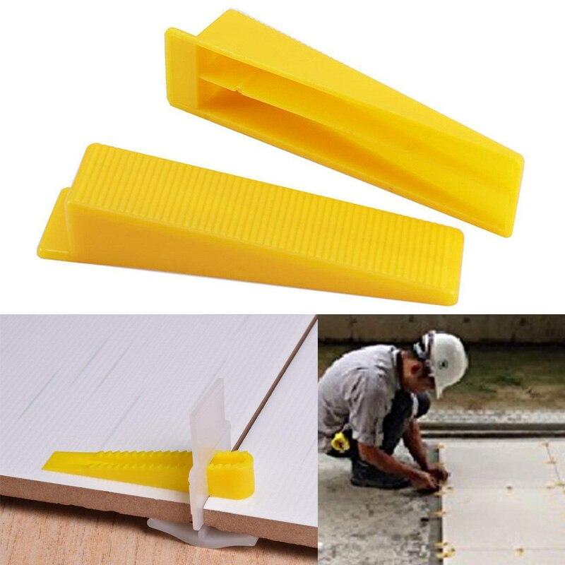 Tile Wedges Spacers Kit Flooring Tile Leveling System for Uneven Floor Walls Lippage Clips Wedges MJJ88